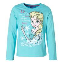 Tv Mania - Tshirt La Reine des Neiges Frozen, : Bleu : 8 ans