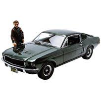 Greenlight - Collectibles - 12885 - VÉHICULE Miniature - ModÈLE À L'ÉCHELLE - Ford Mustang Gt 390 Bullitt - Steve Mcqueen - Echell