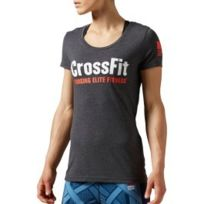 Reebok Crossfit - T-shirt Forging Elite Fitness manches courtes gris