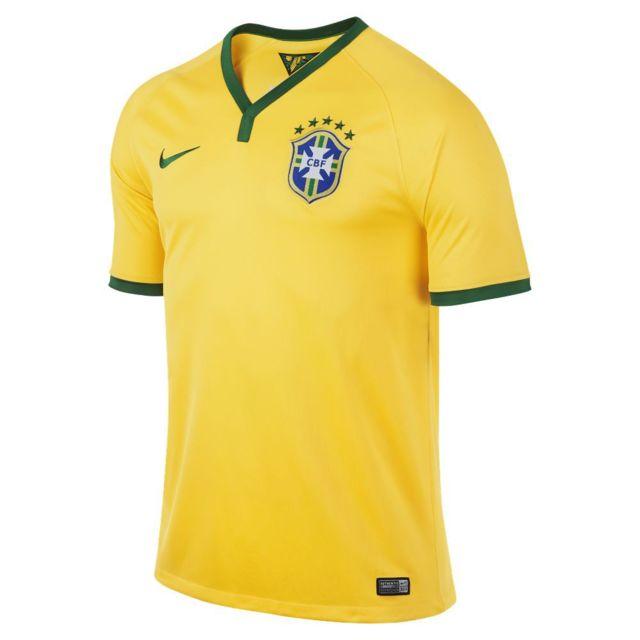 Nike - Maillot Brasil Cbf Stadium 2013 2014 - 575280-703 - pas cher ... 62708677854