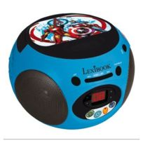 Lexibook - Avengers - Lecteur CD Radio Avengers