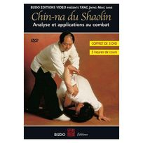 Budo - Chin-na du Shaolin - Analyse et applications au combat - Coffret 3 Dvd