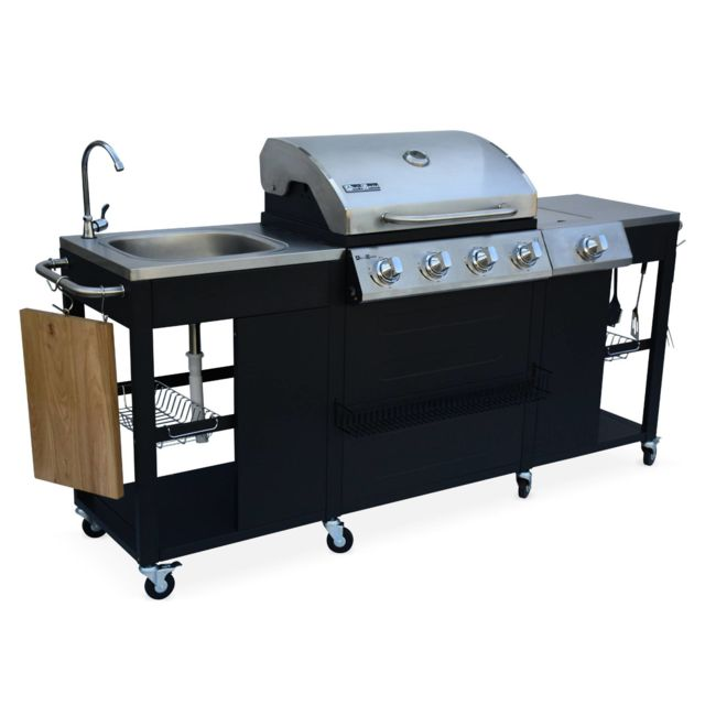 alice 39 s garden barbecue cuisine ext rieure gaz d. Black Bedroom Furniture Sets. Home Design Ideas