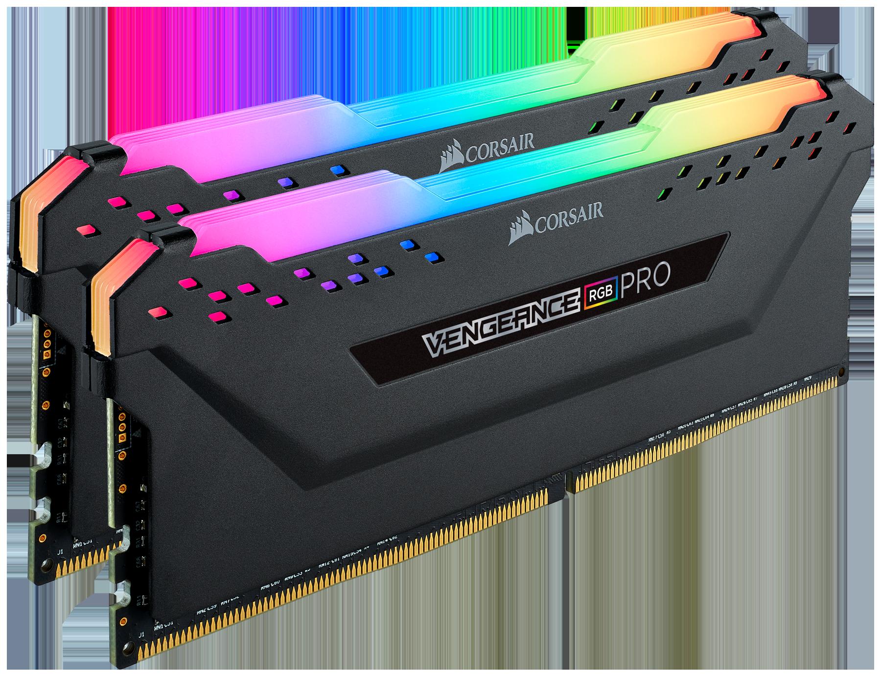 Module de mémoire Vengeance RGB Pro 16 Go 3000 MHz C15 Corsair Noir