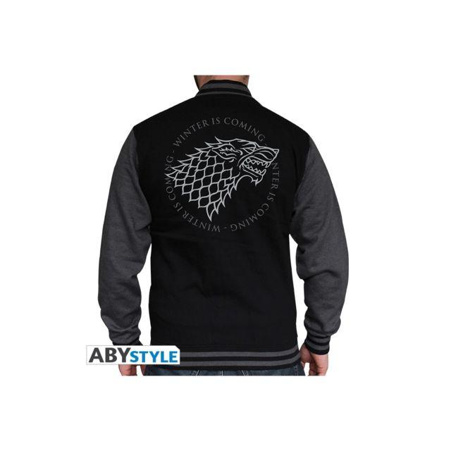 Abystyle Game Of Thrones - Sweat Stark homme black/dark grey