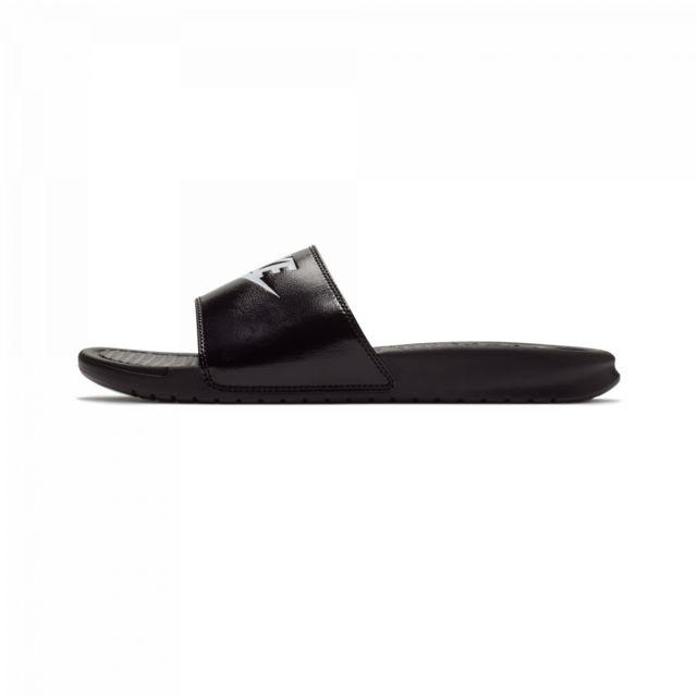 free shipping fcf63 8817b Nike - Sandale Benassi - Ref. 343880-015 Noir - 40 - pas cher Achat  Vente  Sandales et tongs homme - RueDuCommerce