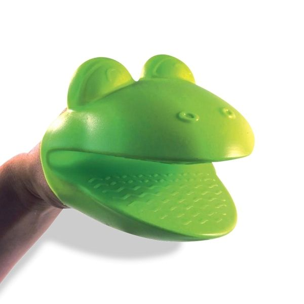 Totalcadeau Gant manique tête de grenouille en silicone