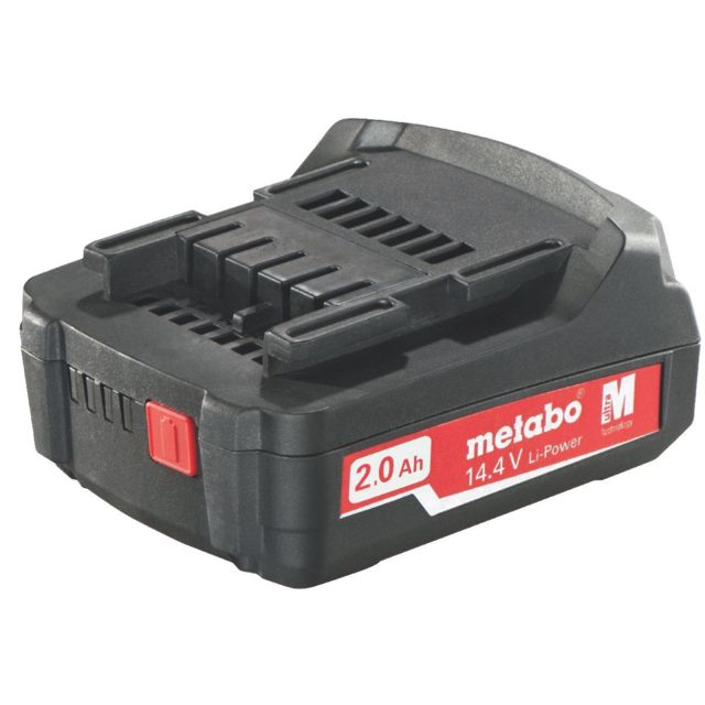 Metabo - Batteries Li-Ion coulissante « Air Cooled » 14,4 V / 2,0 Ah - 62559500
