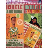 Jjrebillard - Pack Dico et Méthode Ukulélé - Cyril Lefebvre