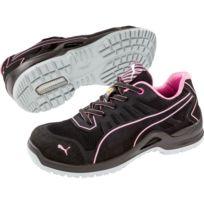 détaillant en ligne a7ebf 2d2c0 Chaussure de sécurité basse femme Fuse Pink Low Esd S1P Src