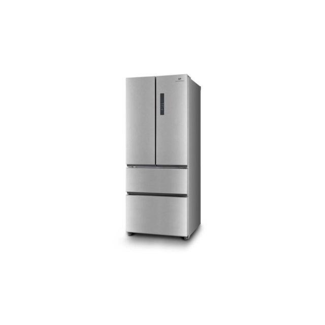 continental edison hc515wen refrigerateur multi portes 396 l no frost inox achat vente. Black Bedroom Furniture Sets. Home Design Ideas
