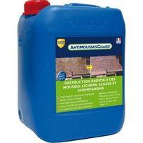 Guard Industrie - Anti mousse - sols, murs et toitures - Antimousses Guard 5L