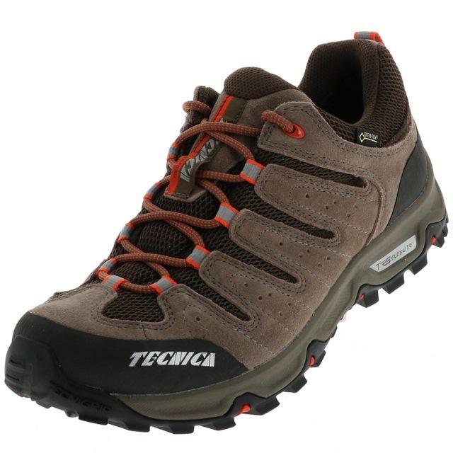 Tecnica Chaussures marche randonnées Tempest low gtx brown  QwQLb