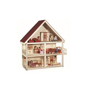 roba baumann gmbh 9457 maison de poup e 74 x 70 x 30 cm pas cher achat vente poup es. Black Bedroom Furniture Sets. Home Design Ideas