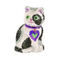 Sequin Art - Kit paillettes Art Sequin 3D : Chat