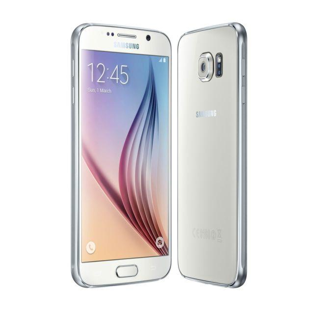 Samsung - Galaxy S6 - 32 Go - Blanc - Reconditionné