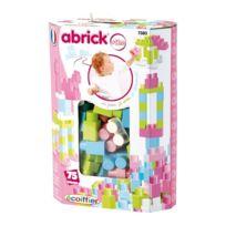 ABRICK - Baril de 75 pi?ces maxi - Rose - 7380