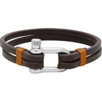 Rochet - Bracelet Cuir Marron Homme Modèle Winch - B350360