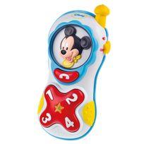 DISNEY BABY - Téléphone lumière et sons de Mickey - parlant - 62370.9