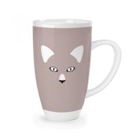 Mug blanc Xxl chat -1