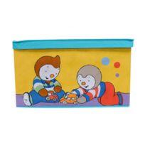 T'CHOUPI - Coffre à jouets - Modèle en carton pliable - Collection