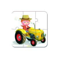 Janod - Puzzles le tracteur de peter