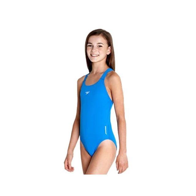 1ddca9e1dd Speedo - Maillot de bain Speedo Essential Endurance+ Medalist bleu fille