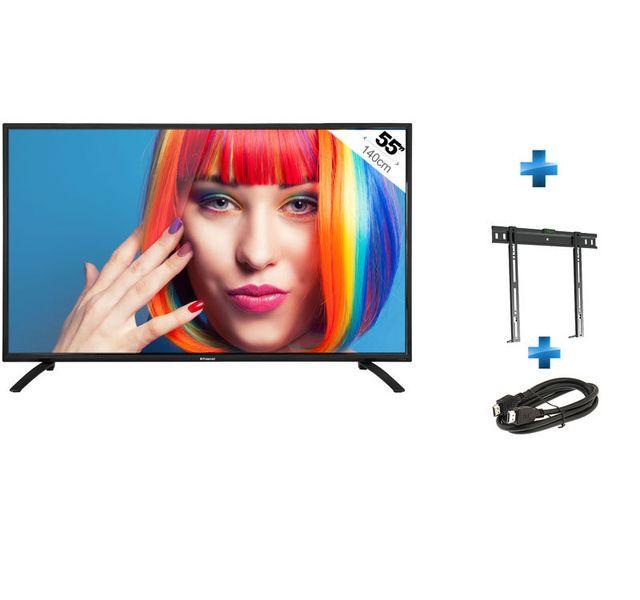 392dcb878ce64c POLAROID - TV 55   TQL 55FHD + Support mural fixe 26   - 55. Description   Fiche technique. Téléviseur LED ...