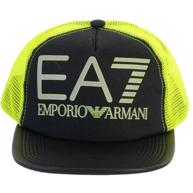 Ea7 Emporio Armani - Casquette Armani Ea7 Visibility Baseball Cap 275581  6P297 00020 Black faaabbfc0b5