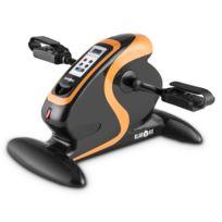 Klarfit - Cycloony MiniBike - Mini vélo d'appartement pour bras et jambes - Appareil d'entraînement 12 vitesses avec ordinateur de bord