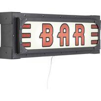 bar lumineux achat bar lumineux pas cher rue du commerce. Black Bedroom Furniture Sets. Home Design Ideas