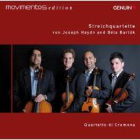 Genuin Musikproduktion - Haydn, Bartok : Quatuors À Cordes. Quartetto Di Cremona Cd