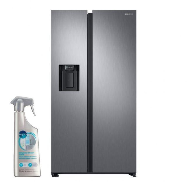 Samsung Réfrigérateur Frigo Américain Us 2 portes Inox 617L A+ Froid Ventilé No frost