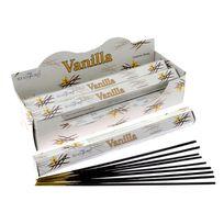 Deco-de-maison - 1 boite de 20 bâtonnets Encens Stamford Premium Hex Vanille