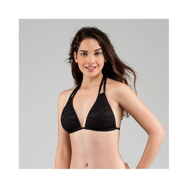 Dorina - Haut de maillot de bain Triangle Aruba Noir - pas cher Achat    Vente Maillots 2 pièces - RueDuCommerce 6b6f95153d1a