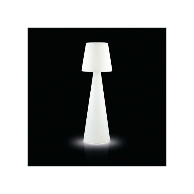 Slide - Lampadaire lumineux Pivot Ali Baba intérieur Blanc - 53cm x 200cm x 200cm