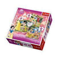 Trefl - Puzzle 3 en 1 - Snow White / Disney Sw - 34038