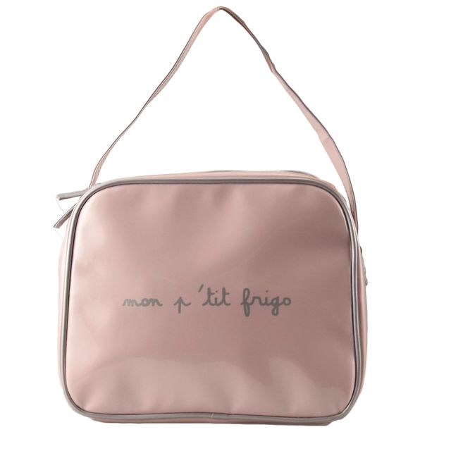 Incidence Lunch bag isotherme - Rose pale / Gris givré