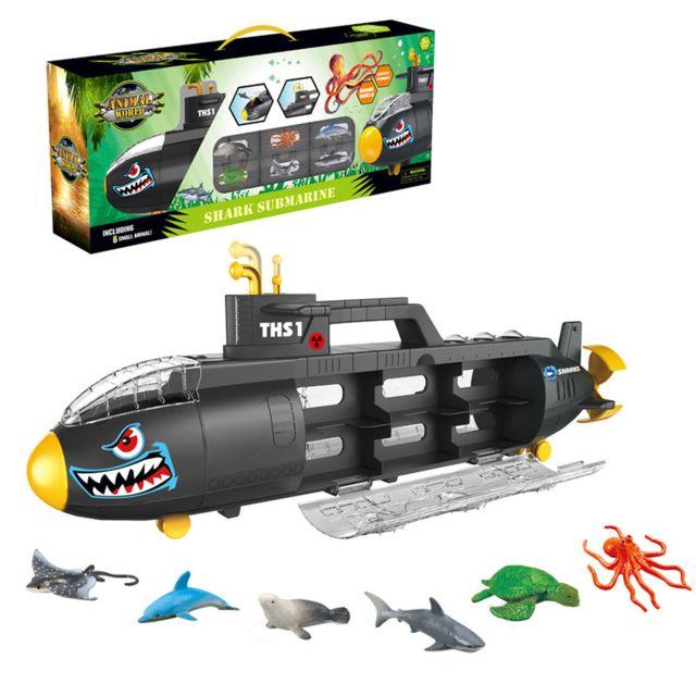 Generic Famille Shark Boîte de rangement portable Submarines Marine Jouets animaux