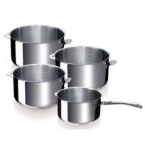 BEKA - série de 4 casseroles inox 14/16/18/20cm - 12326984