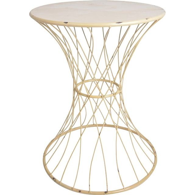 ESSCHERT DESIGN Table de jardin fil de fer 50 cm