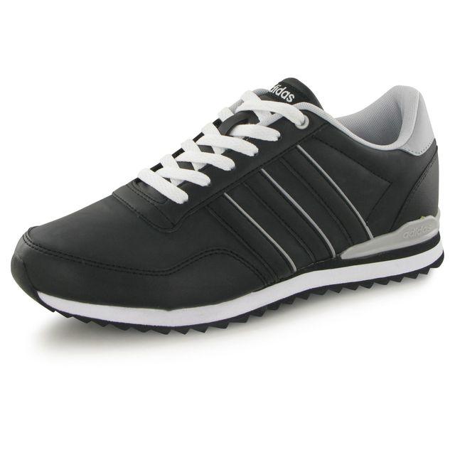 Adidas Jogger Cl noir, baskets mode homme pas cher Achat