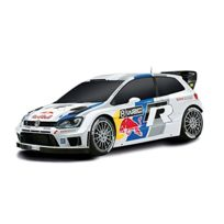 No Name - Scalextric C3525 1:32 Scale Vw Polo Wrc Slot Super Resistant Car