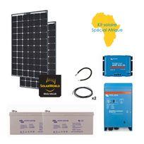 Myshop-solaire - Kit solaire 560w hybride afrique premium