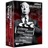 Movinside - Alfred Hitchcock: Une Femme Disparait+QUATRE De L'ESPIONNAGE+AGENT Secret+ Jeune Et Innocent 4DVD