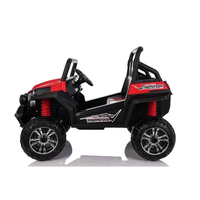 cda36ab0c47b2 Kid ZZZ N  Quad ZZZ - Grand 4x4 électrique Enfant 12V Buggy Rouge ...