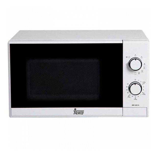 Micro-ondes avec grill 20 L 700W blanc - Cuisson rechauffer et decongler