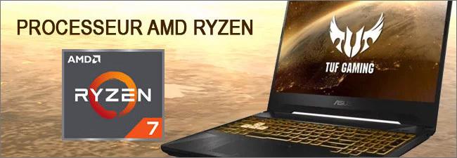 ASUS TUF GAMING - Processeur AMD Ryzen 7
