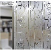 Film Intimité Pour Vitre Statique Décoratif Film Adhésif Fenêtre Vitrage Autocollant 60 Cm 200 Cm Motif Bambou