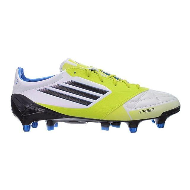 the best attitude 22161 58722 Adidas - F50 Adizero Xtrx Sg Leather Blanc - 40 - pas cher Achat   Vente  Chaussures foot - RueDuCommerce